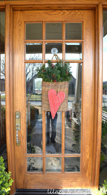 A Little Valentines Day Door Decor Lilacs And