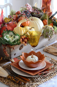 Thanksgiving table-side shot-stonegableblog.com