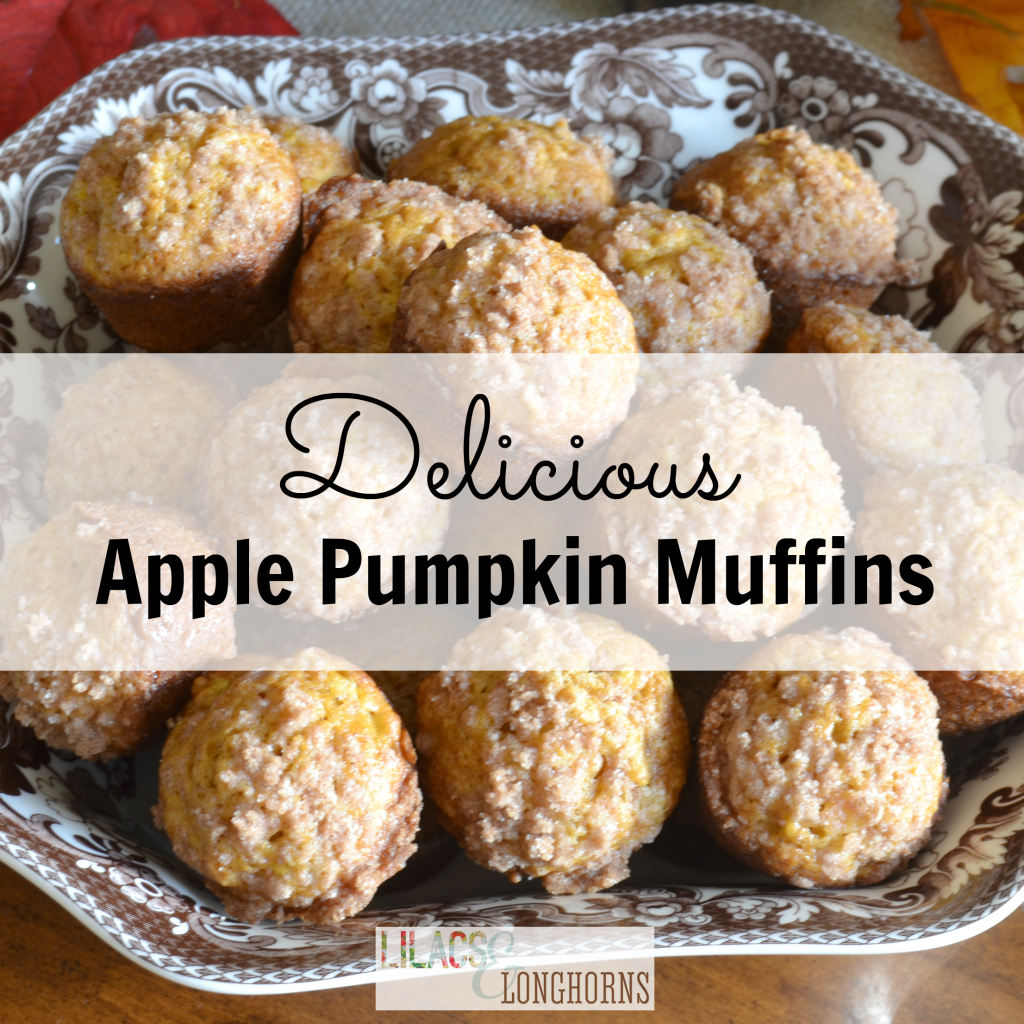 Apple Pumpkin Muffins Recipe - Lilacs and LonghornsLilacs ...