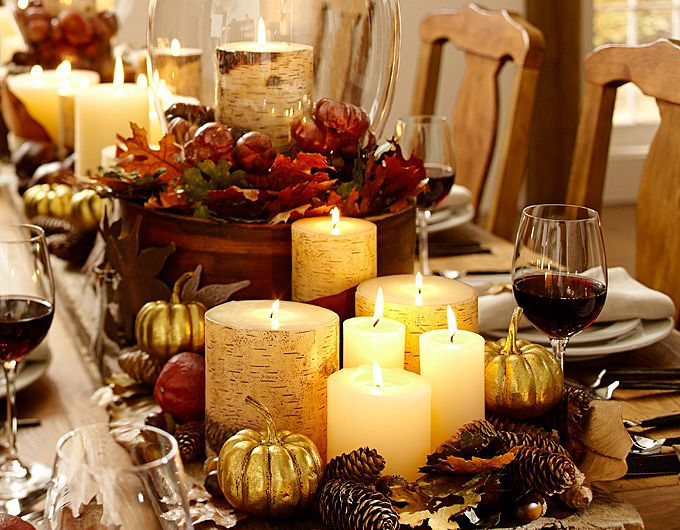 Creating A Pottery Barn Inspired Fall Tablescape