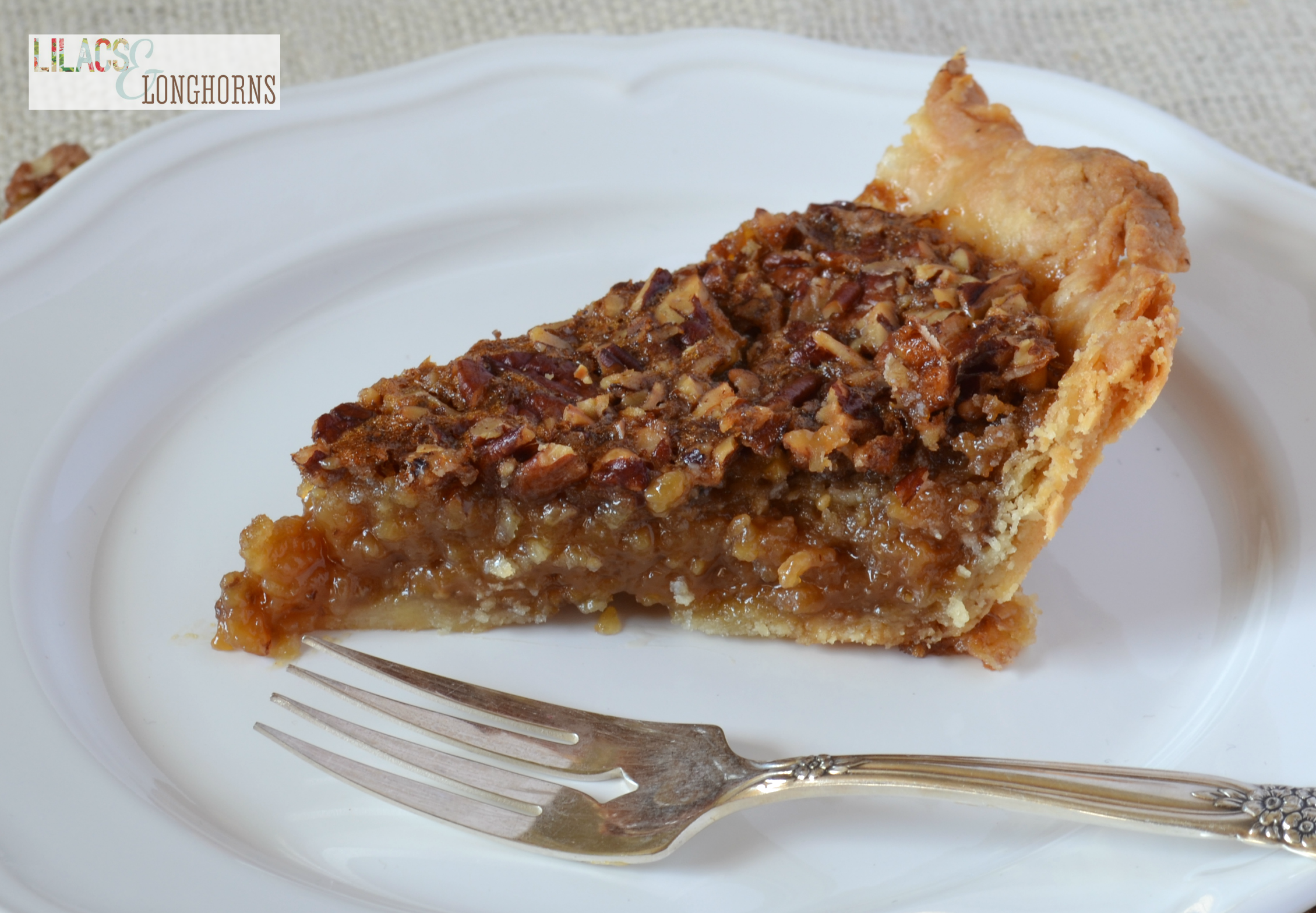Rich and Delicious Pecan Pie RecipeLilacs and Longhorns