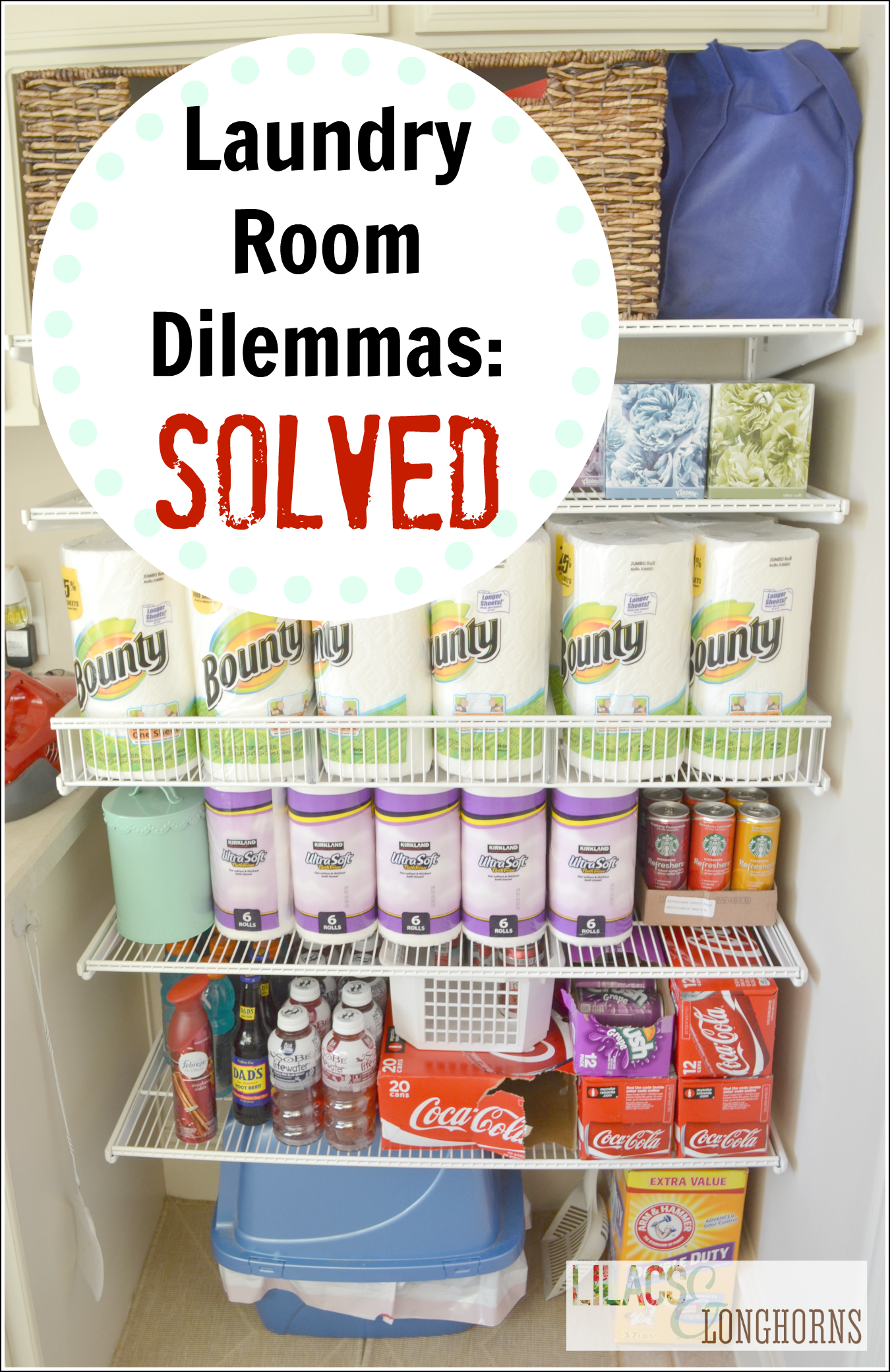 valuable inspiration laundry organization. My Laundry Room Storage Dilemmas  Solved Lilacs and