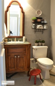 powder bath makeover