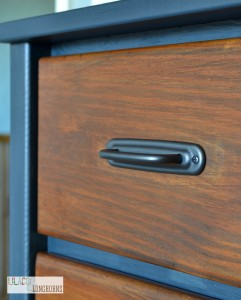 drawer with pulls