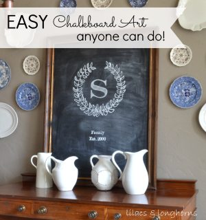 easy chalkboard art