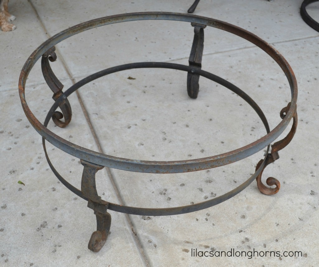 fire pit stand