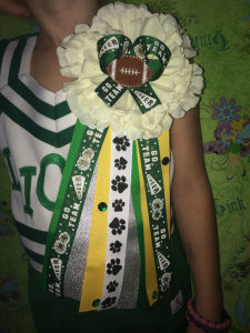 Homecoming mum via Etsy