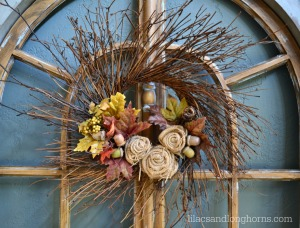 fall twiggy wreath