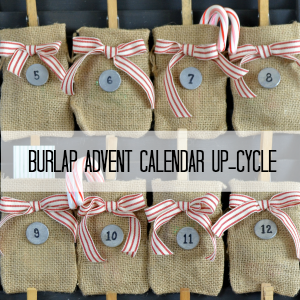 Burlap Advent Calendar
