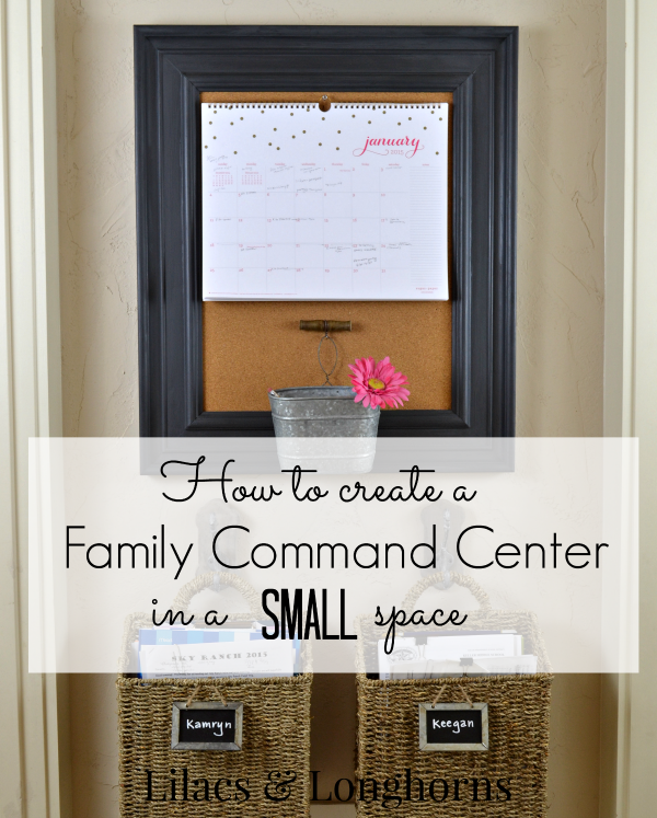 How To Create A Family Command Centerlilacs And Longhorns