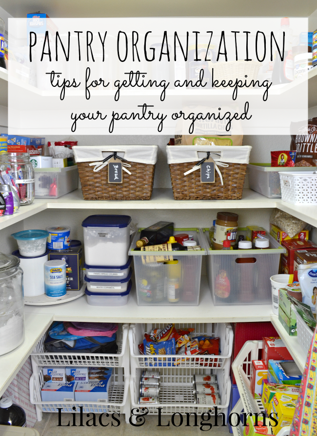 7 Mantras For Organizing Your Pantry Lilacs And