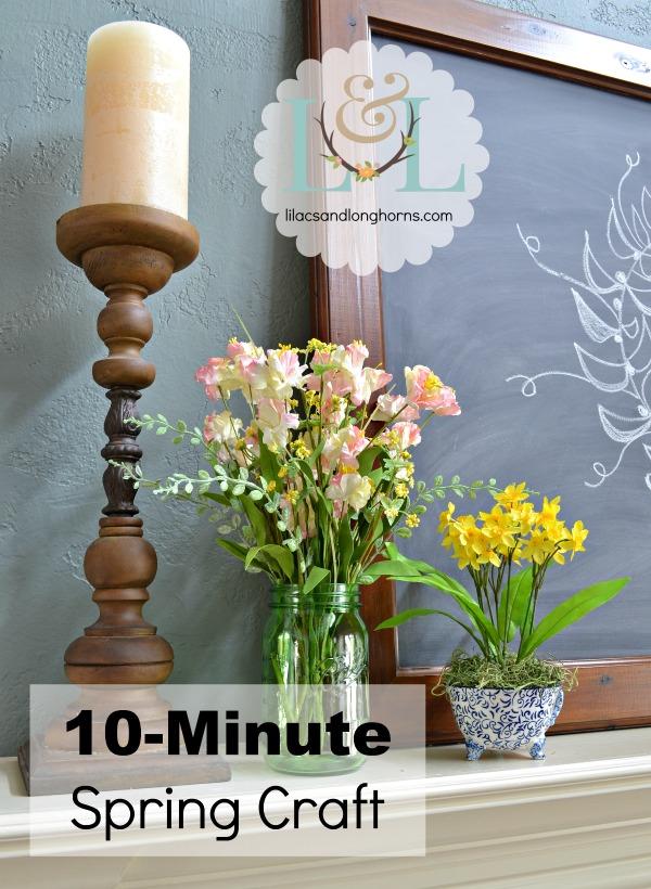 10-minute spring craft