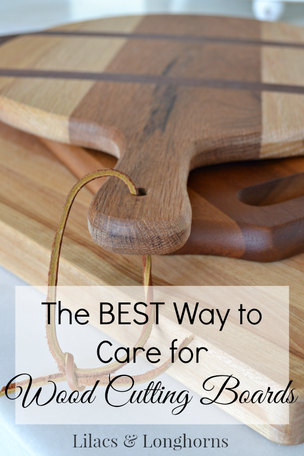 Caring For Wood Cutting Boards Lilacs And
