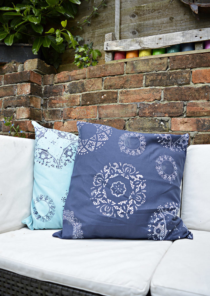 DIY doily pillows Share it One More Time Inspiration Party Features | One More Time Events