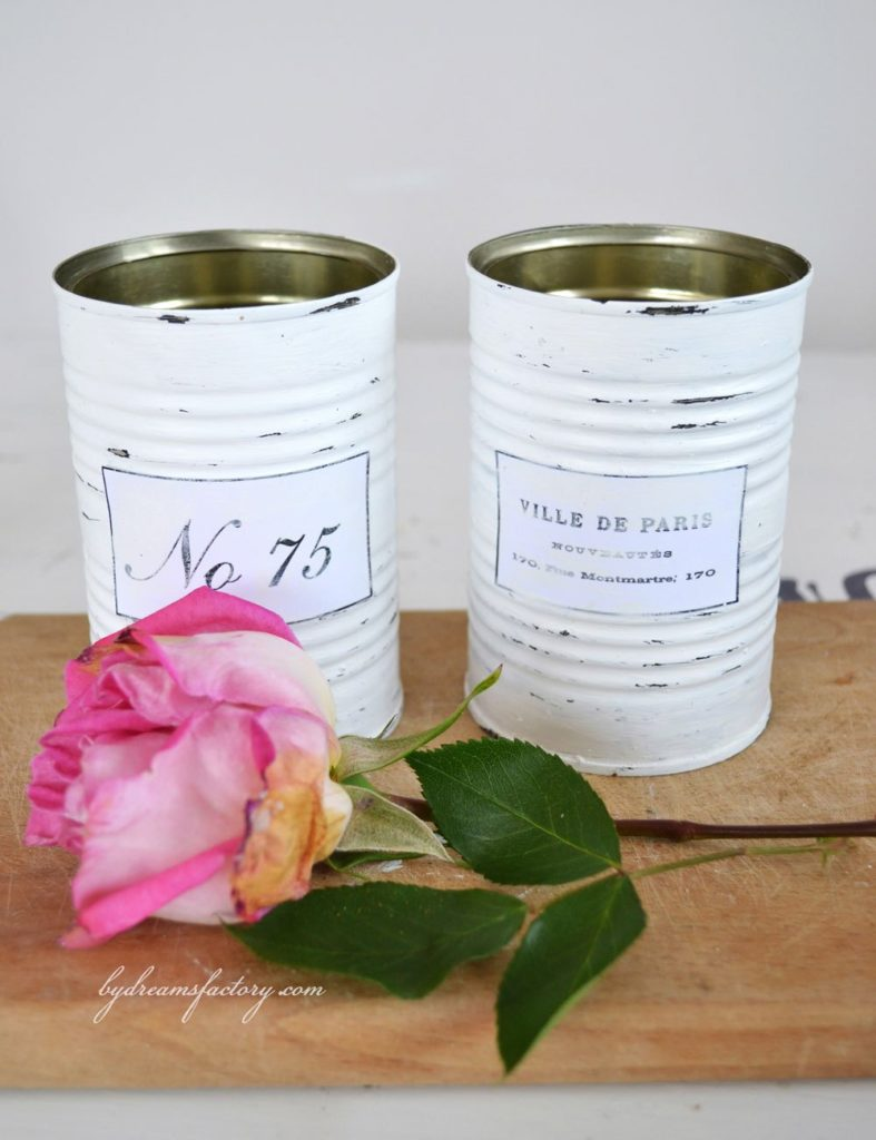 tin can french vases Share it One More Time Inspiration Party Features | One More Time Events