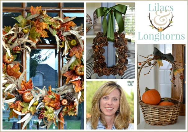 fall projects from lilacs and longhorns
