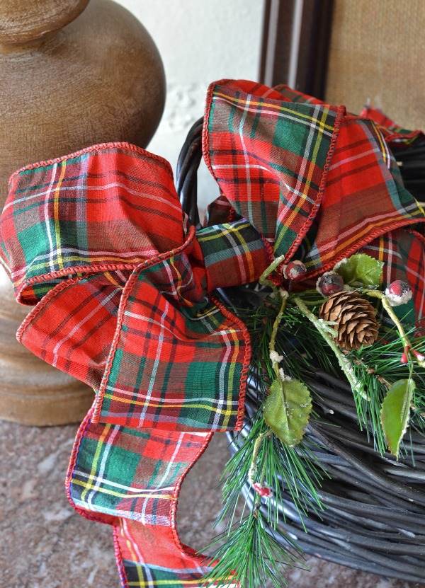 how to make the perfect bow lilacs and longhornslilacs and longhorns - Plaid Christmas Ribbon