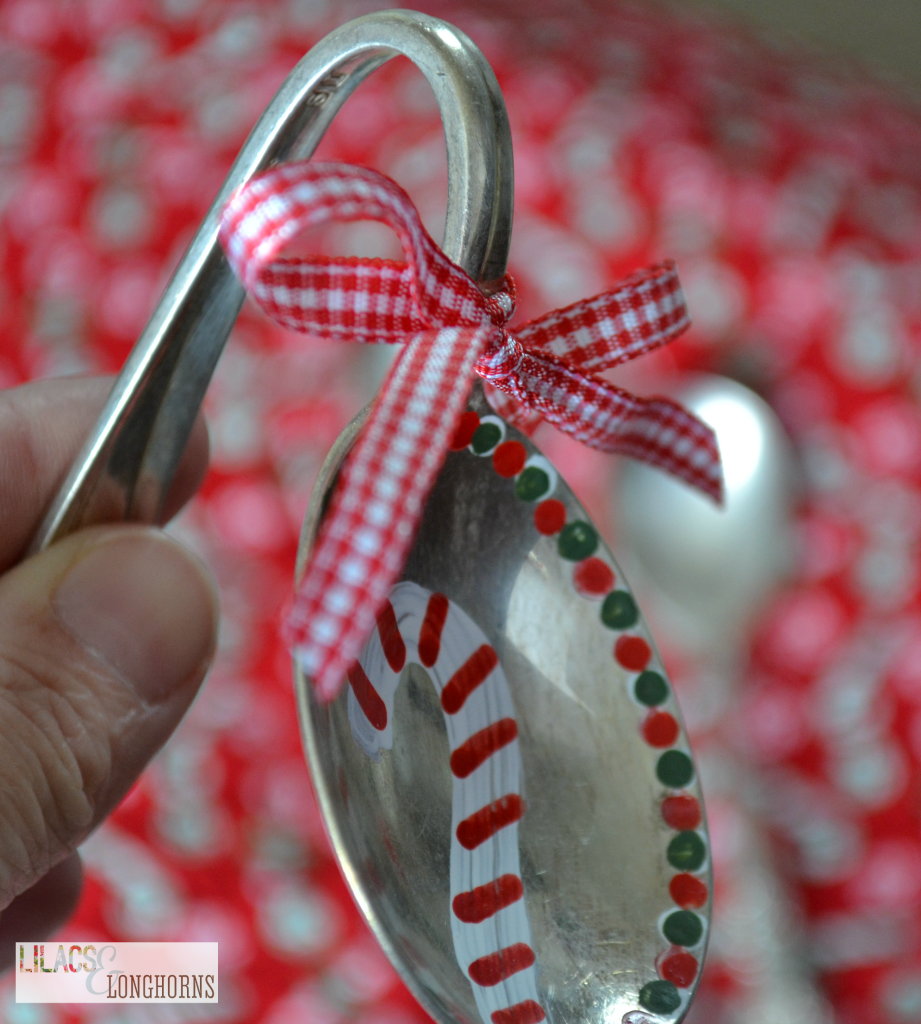 vintage spoon ornament