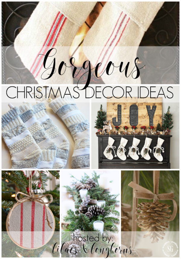 Gorgeous Christmas decor ideas