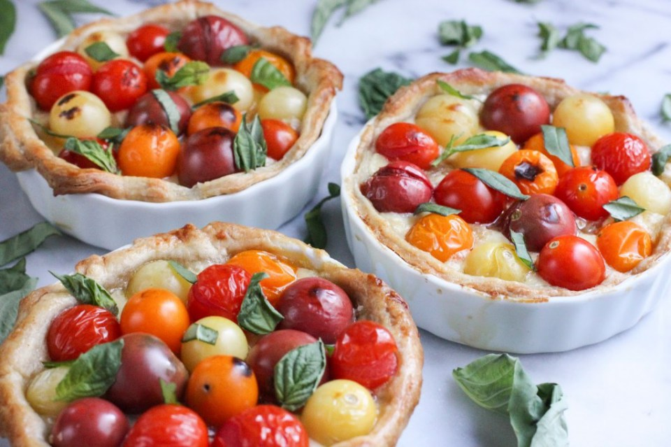 tomato tart Share it One More Time Inspiration Party Features | One More Time Events